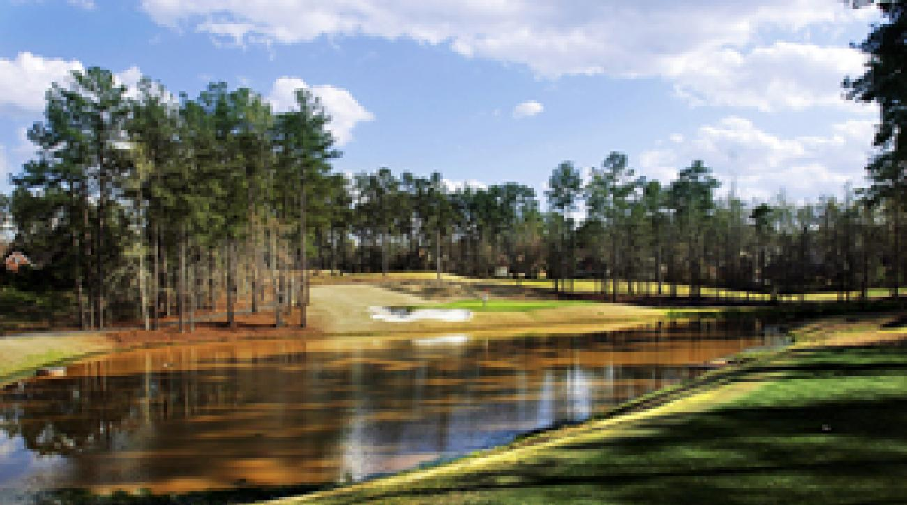 For those with deep pockets (or on a corporate account), a tee time for four can be had for $1,200 on the Tuesday through Saturday of tournament week at Jones Creek Golf Club, a handsome Rees Jones design.