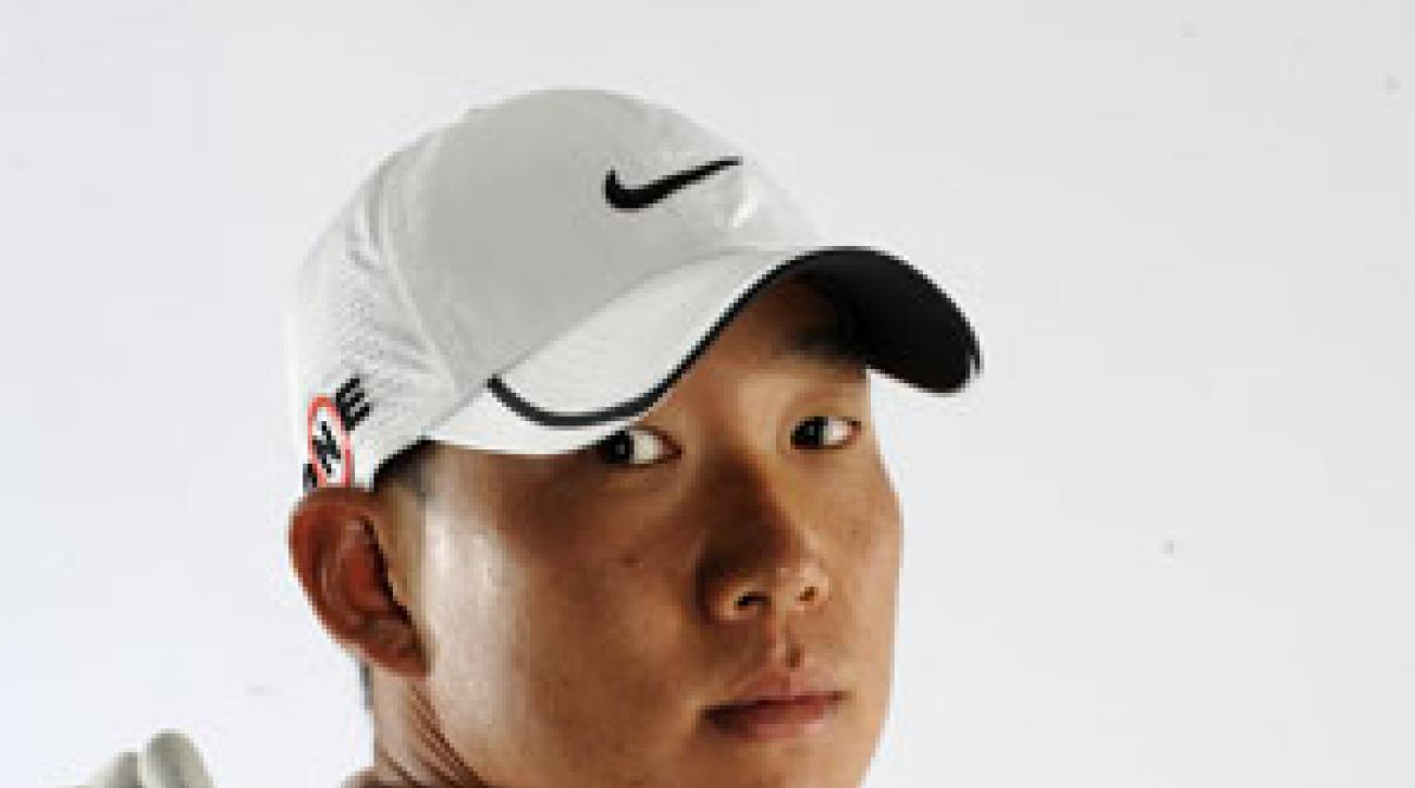 Anthony Kim had dreams to play in the NBA, but he settled on the PGA Tour.