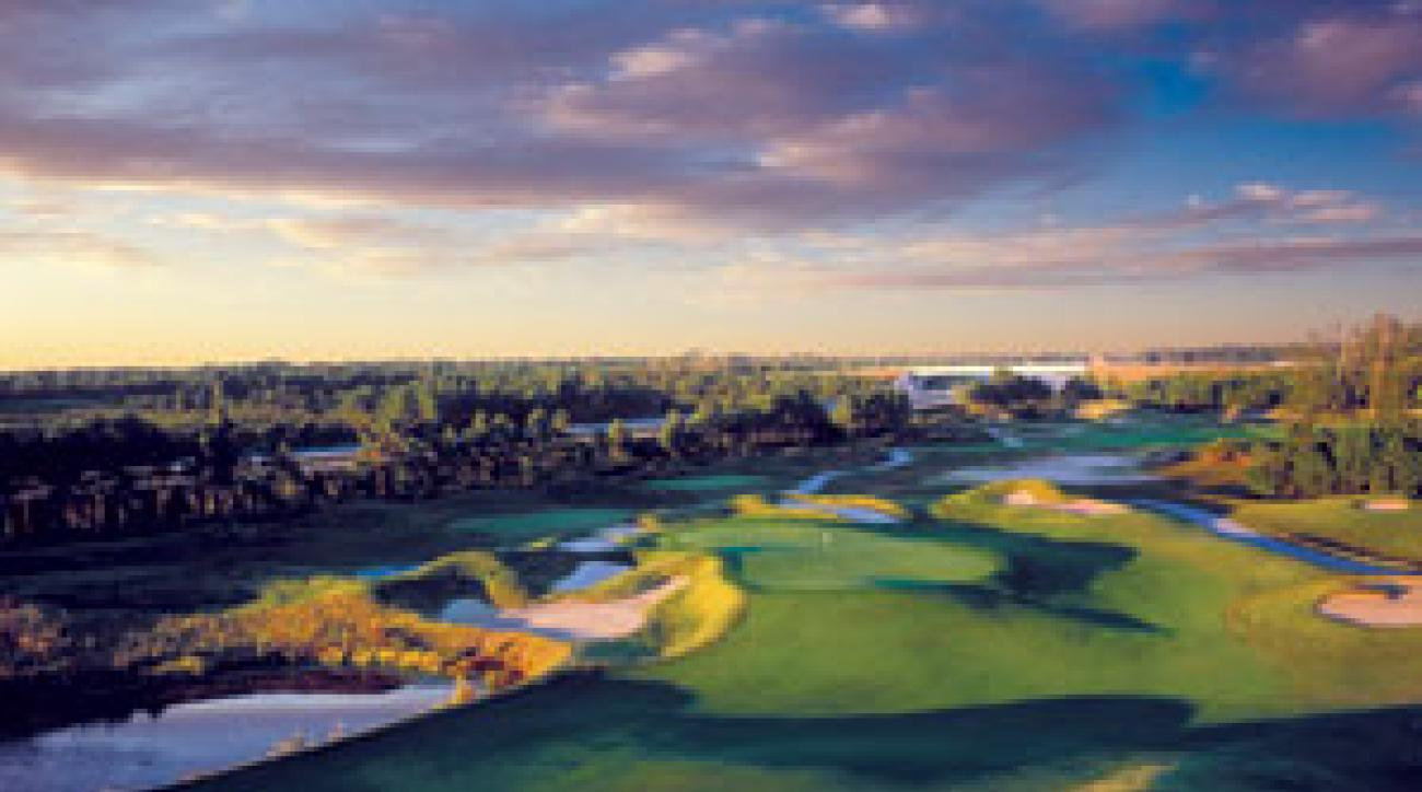 The Dye Course at Barefoot Resort gets our vote as the toughest in town.