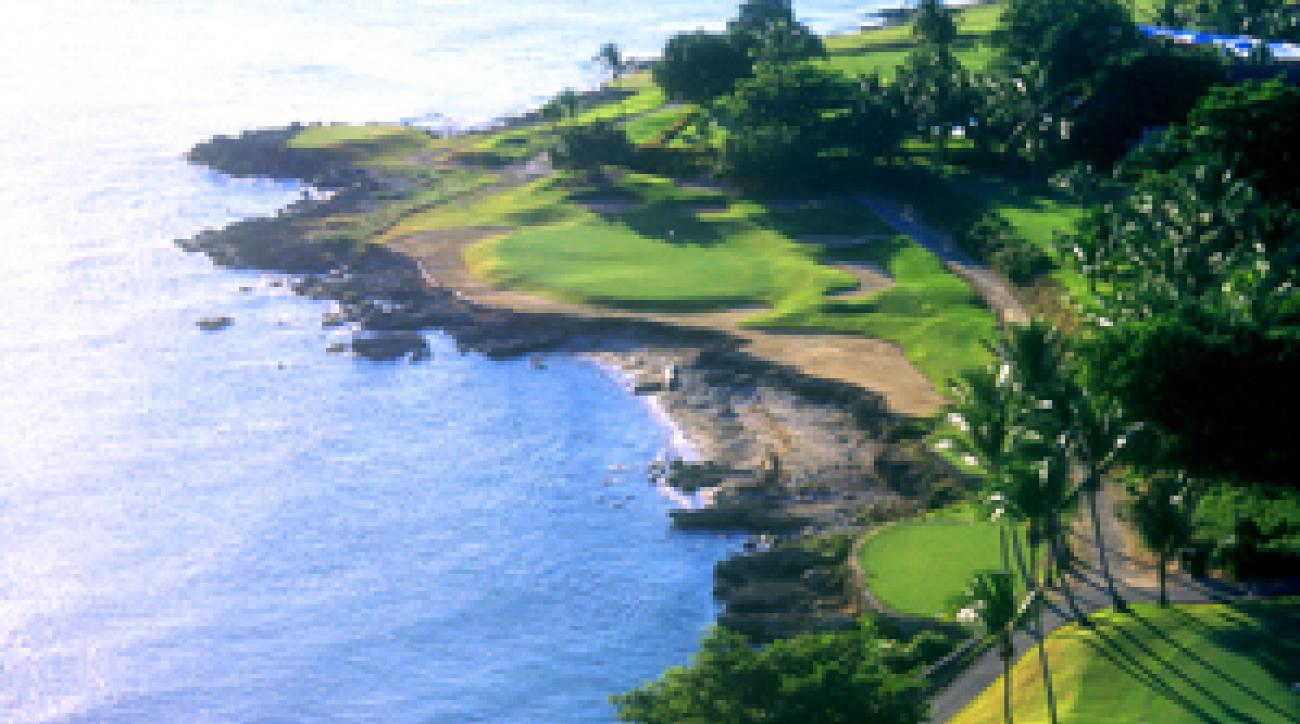 The par 3s at Teeth of the Dog are among the world's best.
