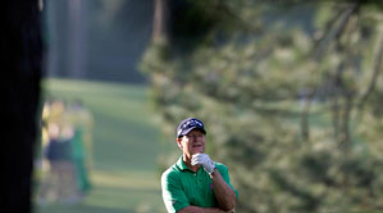 Tom Watson hasn't made the cut at the Masters since 2002.