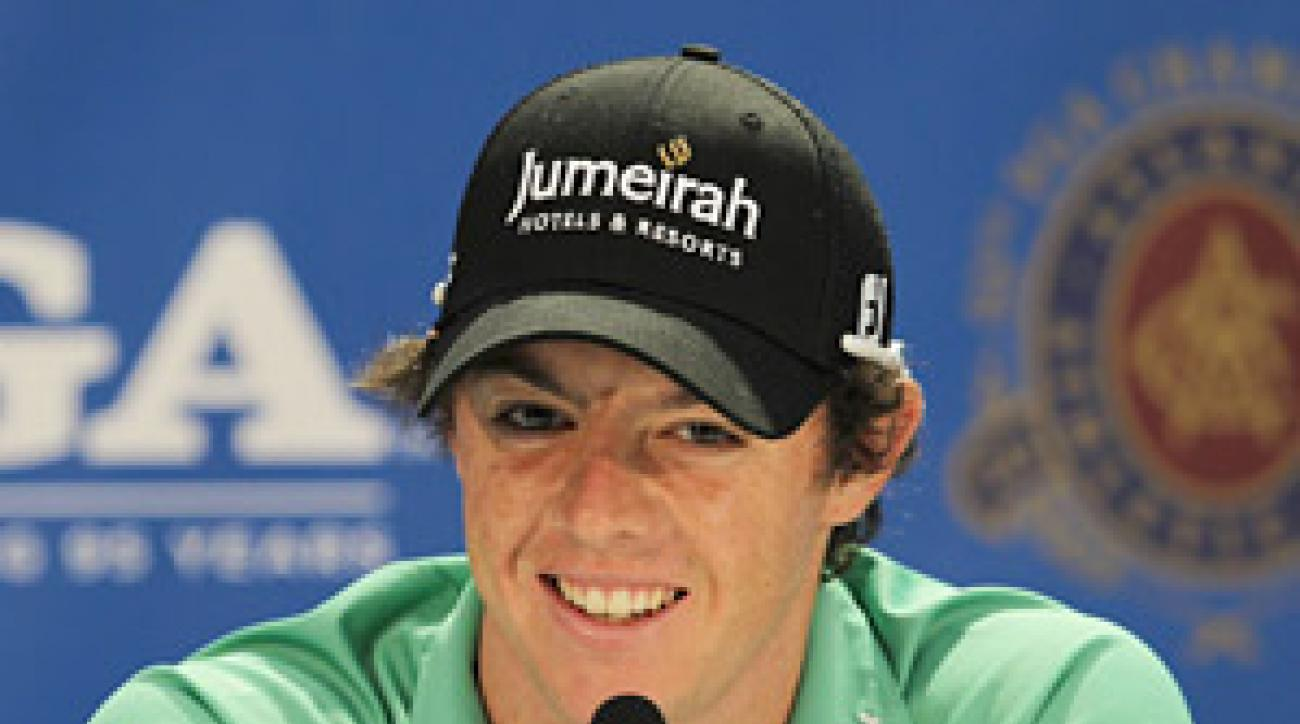 Rory McIlroy finally feels like he's back to work after the whirlwind that followed his U.S. Open championship in June.