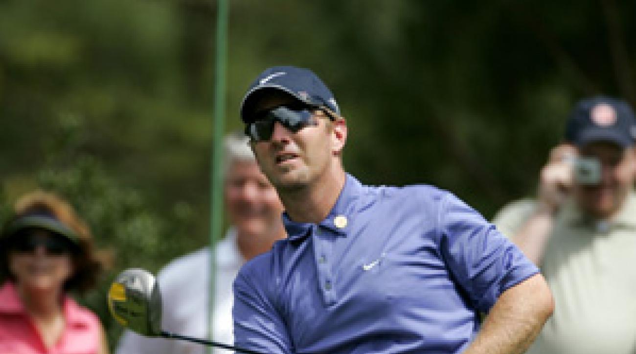 David Duval made a 10 at the 2006 Masters.
