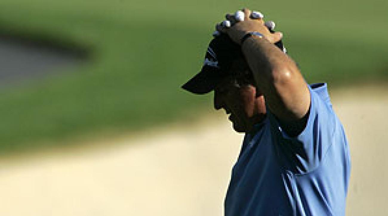 """It just feels like I'm leaving four, five shots out there is all,"" Phil Mickelson said."
