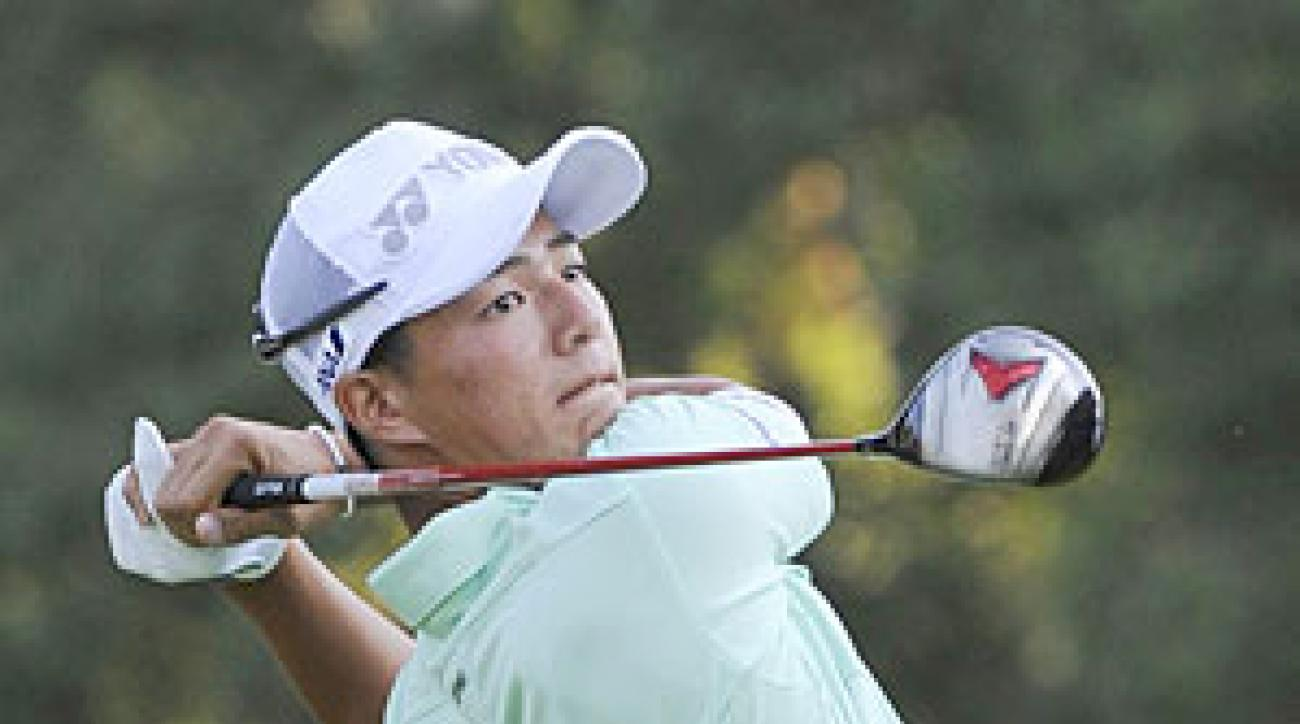 Ryo Ishikawa made six double bogeys and two bogeys.