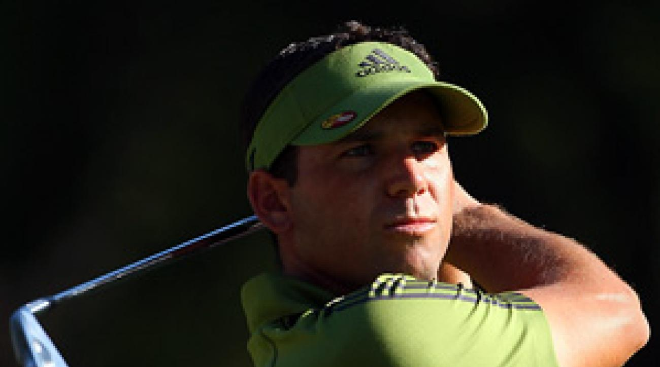 Garcia shot 74 which would've left him nine over for the tournament.