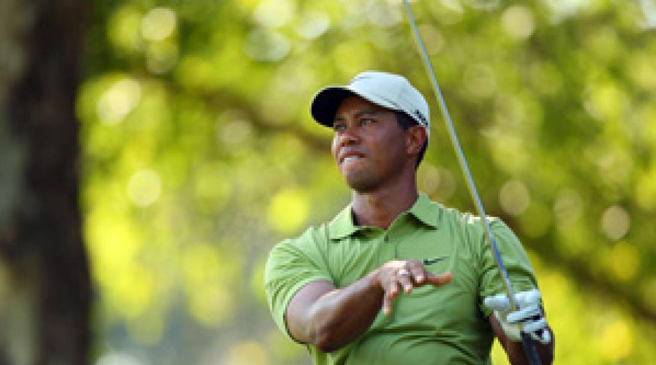 Woods is seeking his 13th major Sunday.