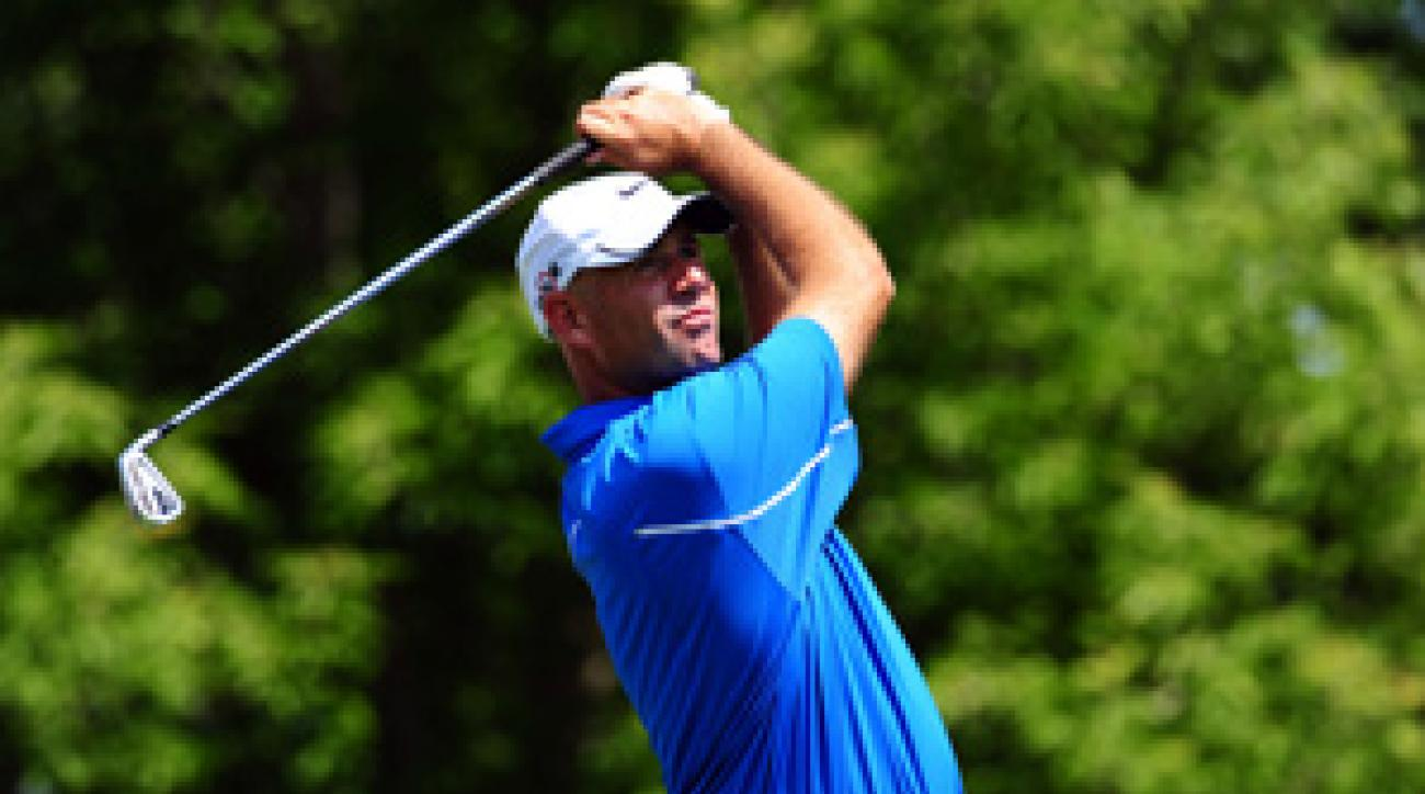Stewart Cink tied for sixth last week at Firestone in his first start since winning the British Open.