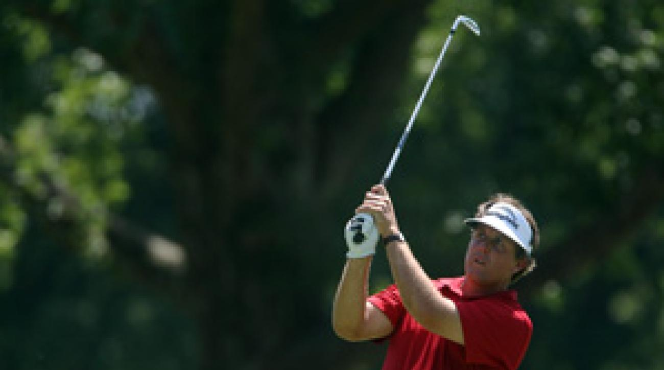 Phil Mickelson finished tied for 32nd at the PGA.