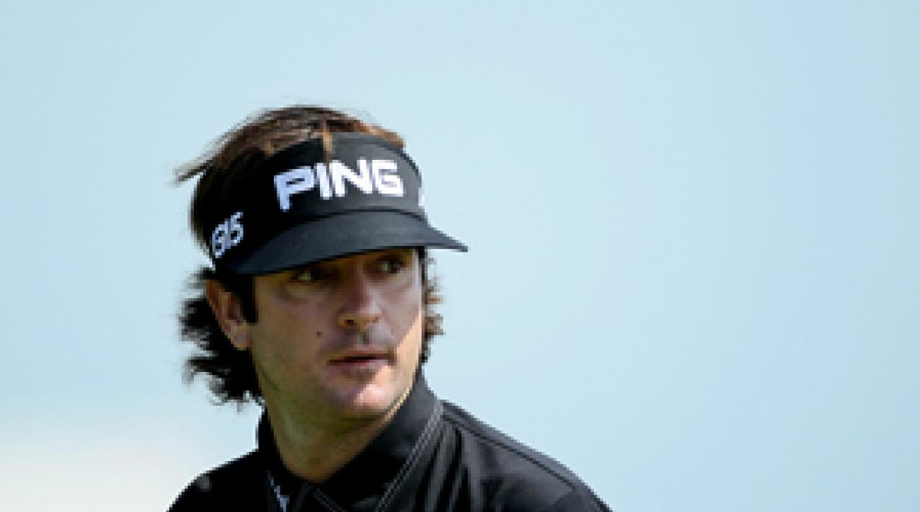 Bubba Watson shot a four-under 68 on Thursday at Whistling Straits.
