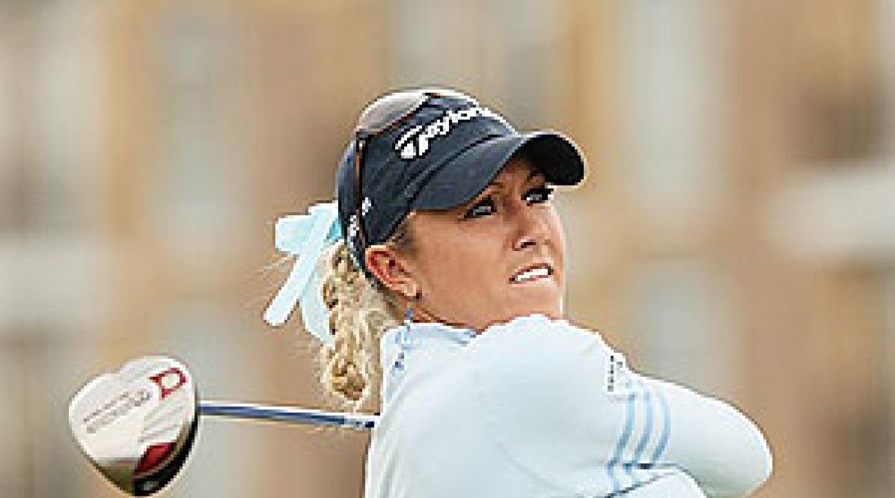 Natalie Gulbis got her first win two weeks ago at the Evian Masters.