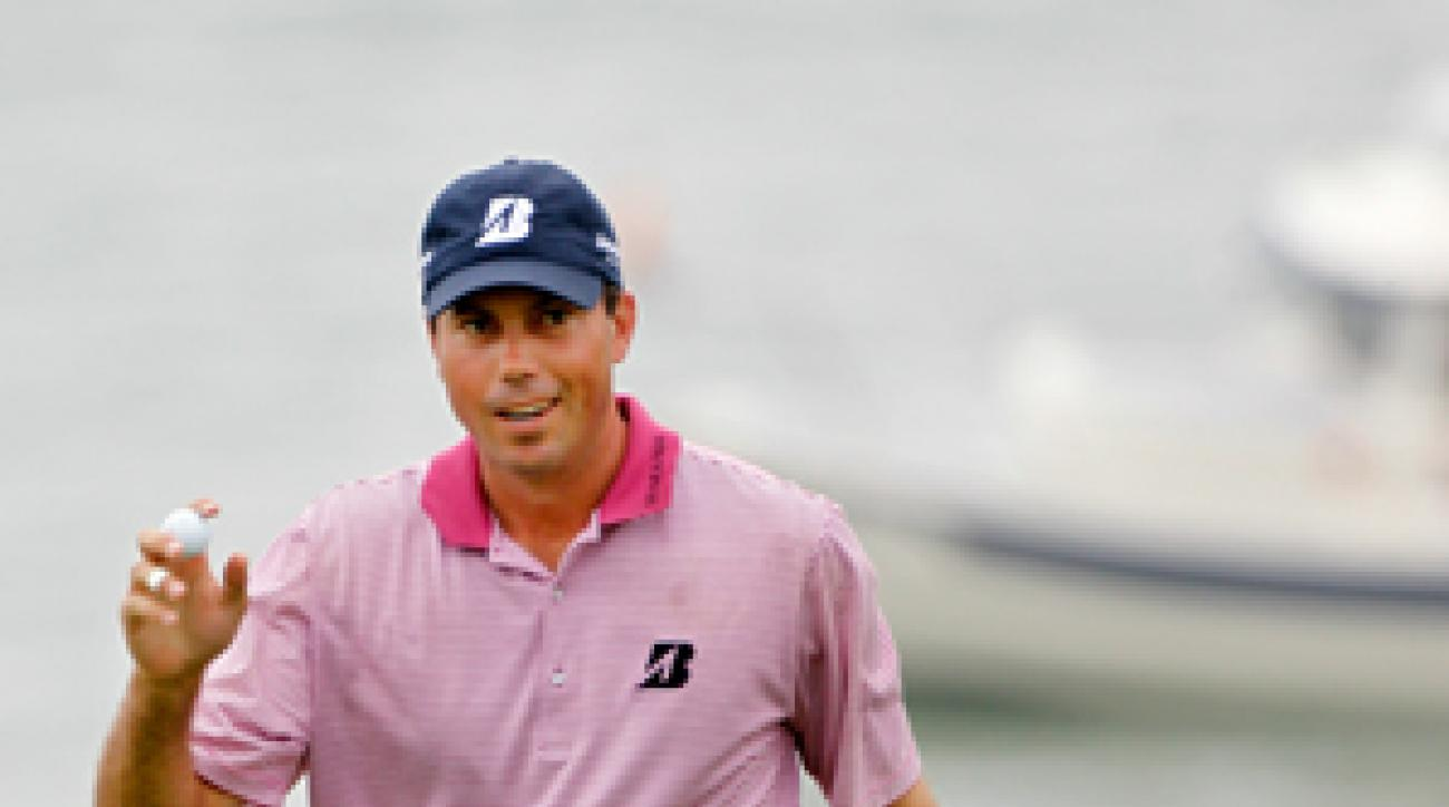 Matt Kuchar made four birdies, an eagle and a bogey in his opening round.