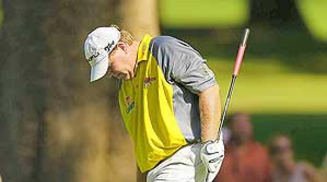 John Daly at the PGA Championship earlier this season.