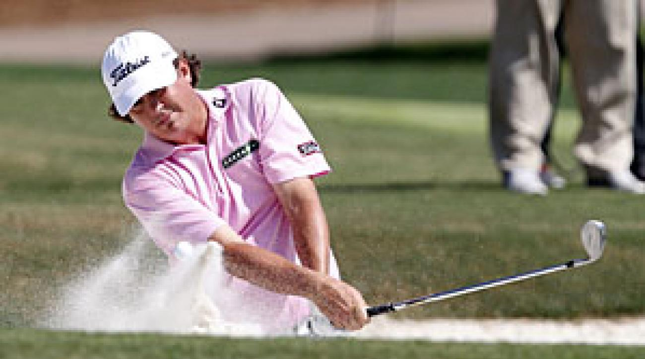 Jason Dufner bogeyed three of the final four holes.