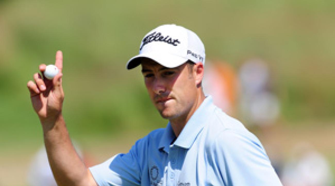 Ross Fisher shot a four-under 68 Friday.