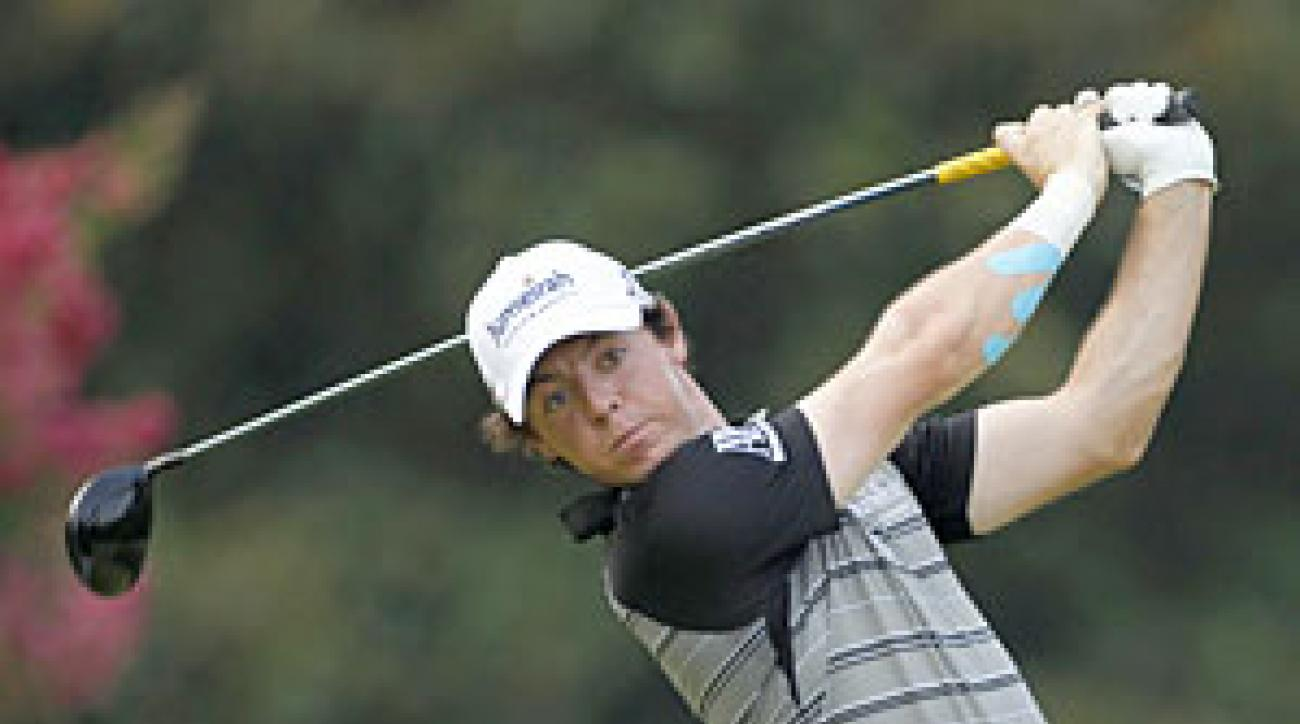 Rory McIlroy tied for 64th.