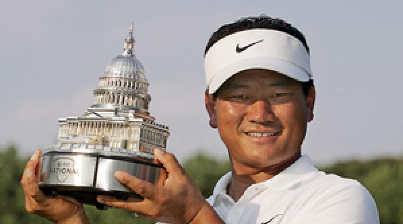 K.J. Choi said if he won the FedEx Cup, he would donate the money to charity.
