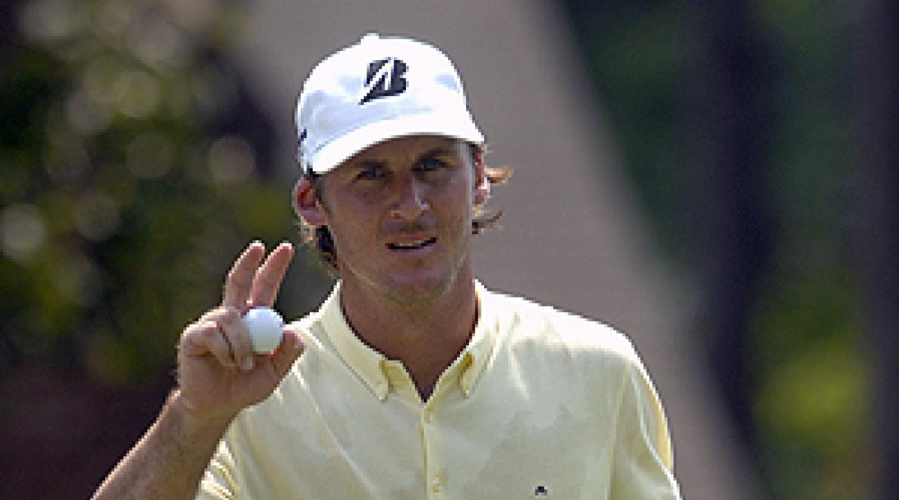 Will MacKenzie had nine birdies in his first round.