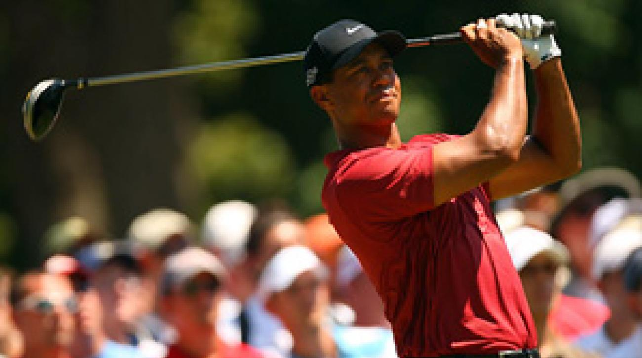 """""""My body is spent and I need a short break,"""" Tiger Woods said."""