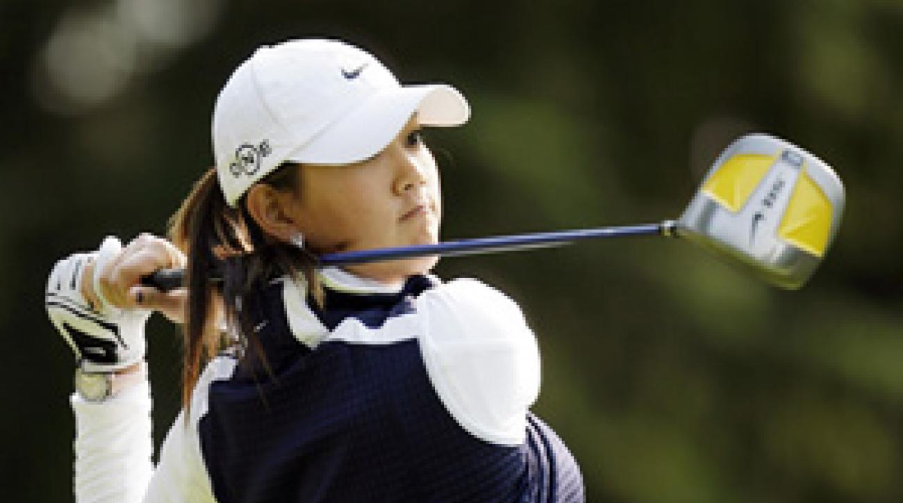 """It's frustrating to see my score was high when I don't feel I played that bad,"" said Michelle Wie."
