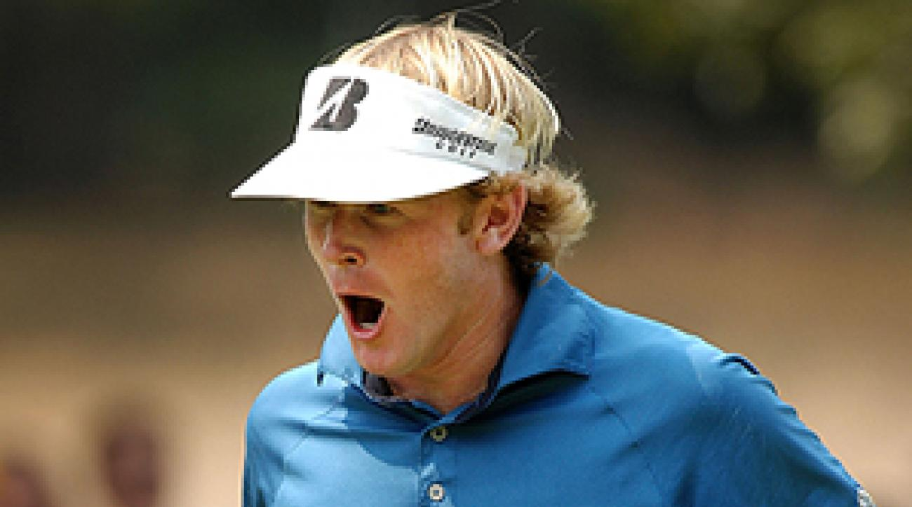 Snedeker shot a 9-under 63 during his final round to claim a two-stroke victory at the Wyndham Championship