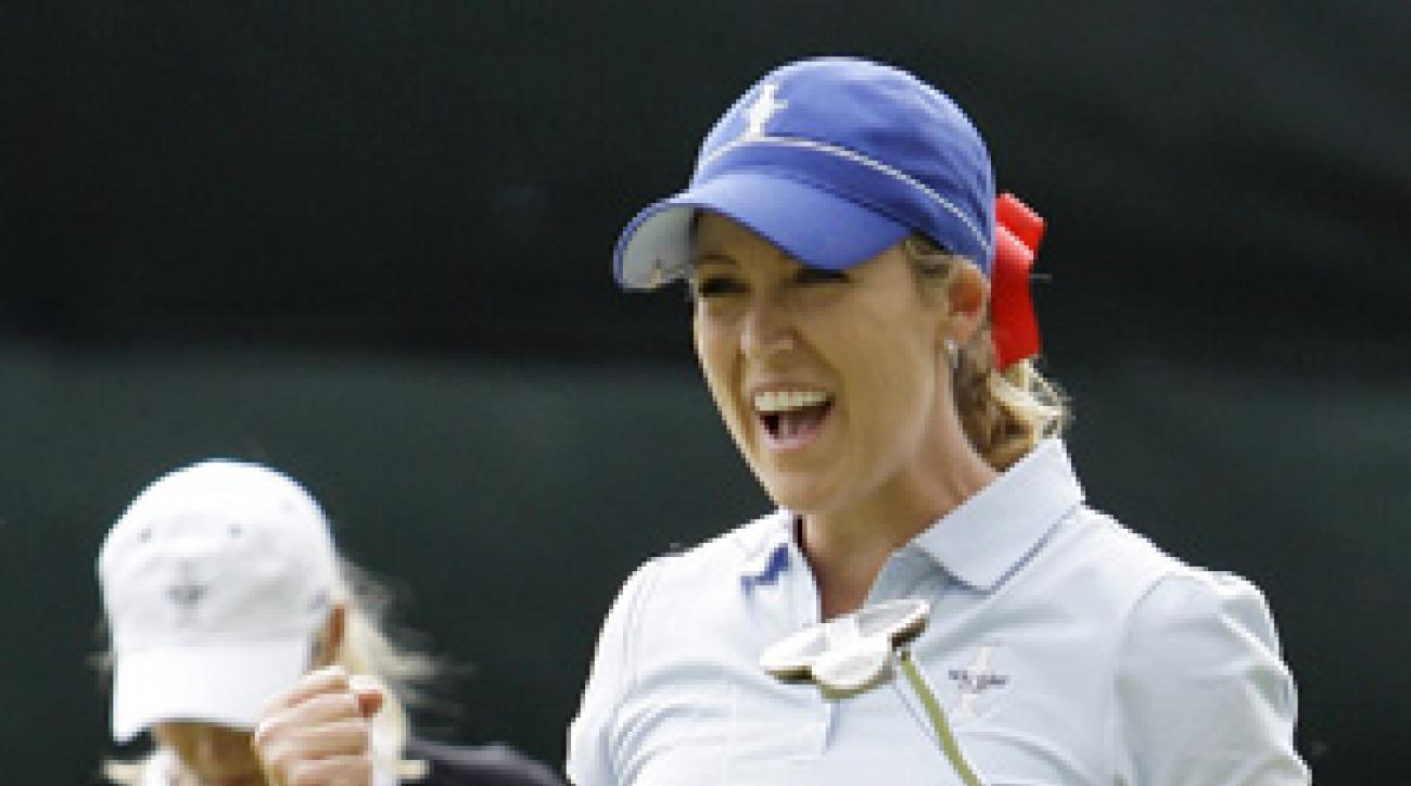 Cristie Kerr's hot putter secured a point for the U.S.