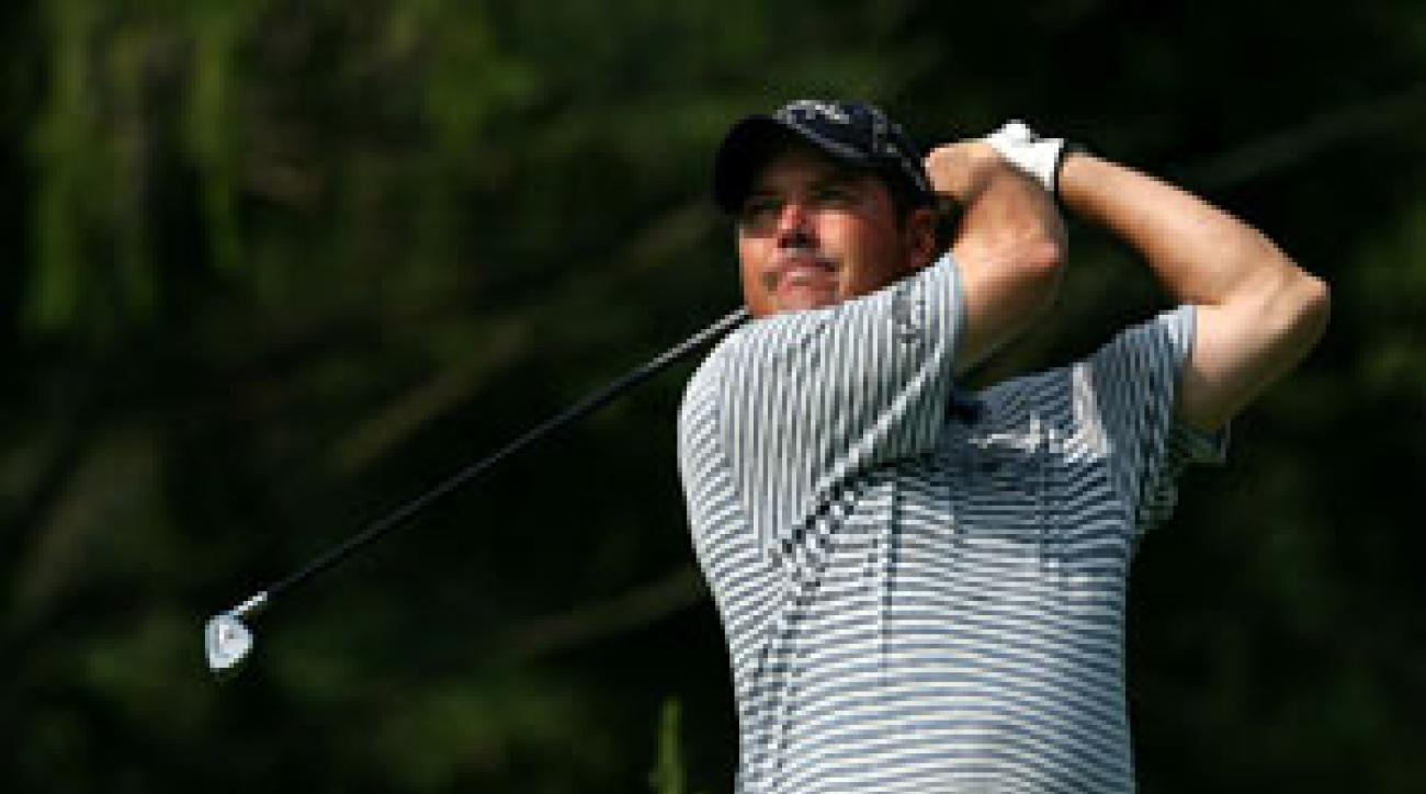 Rich Beem moved into solo second with a 68, two shots behind Choi.