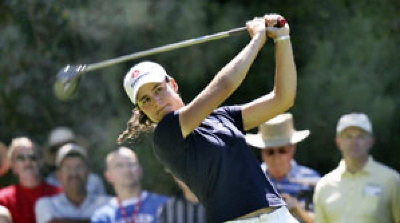 Lorena Ochoa made birdies on 16 and 18 to shoot a five-under 67.
