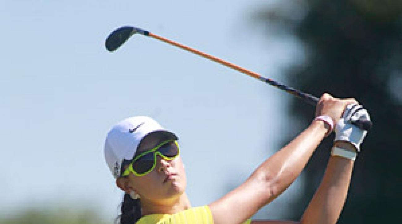 Defending champion Michelle Wie fired a five-under 67 on Thursday.