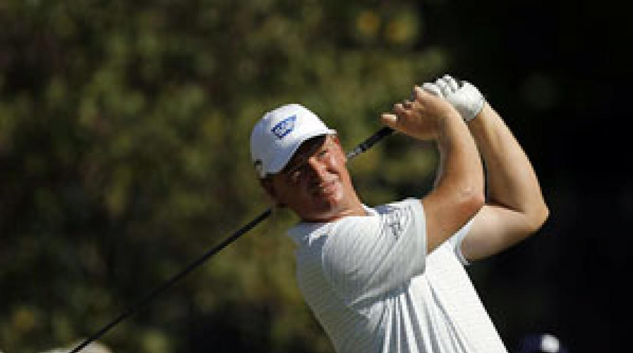 Ernie Els finished fourth at the Barclays.