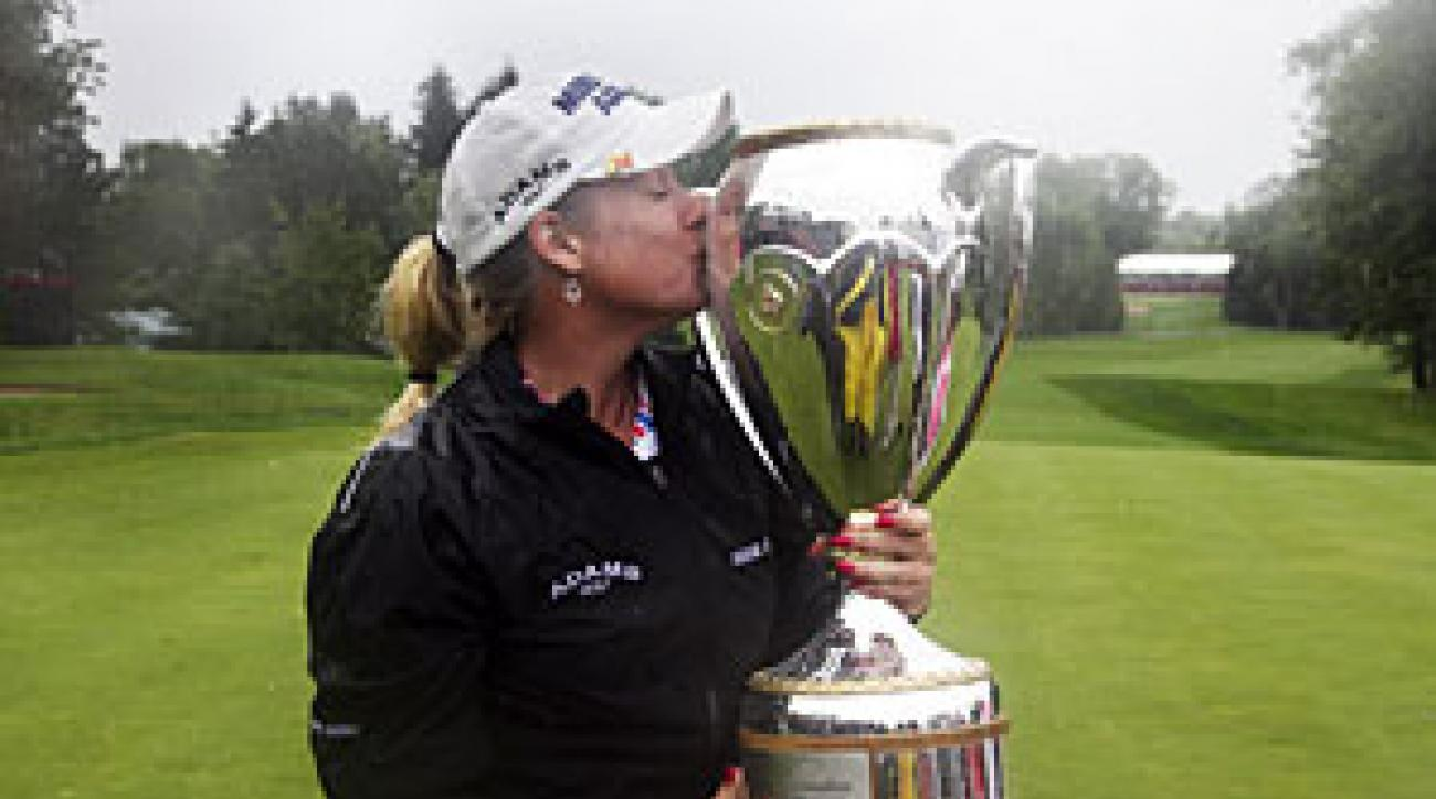 Brittany Lincicome made three birdies and a bogey to win by one.