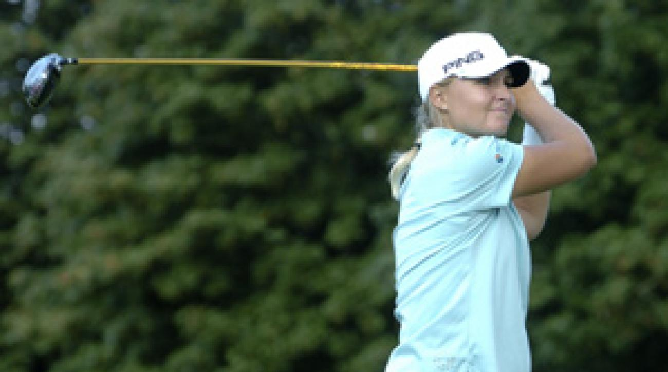 Anna Nordqvist won the McDonald's LPGA Championship in June.