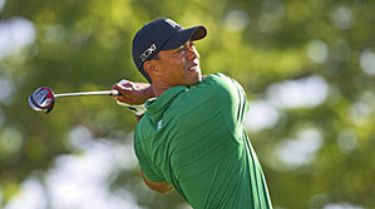 Tiger Woods signed his first endorsement deal in more than two months.