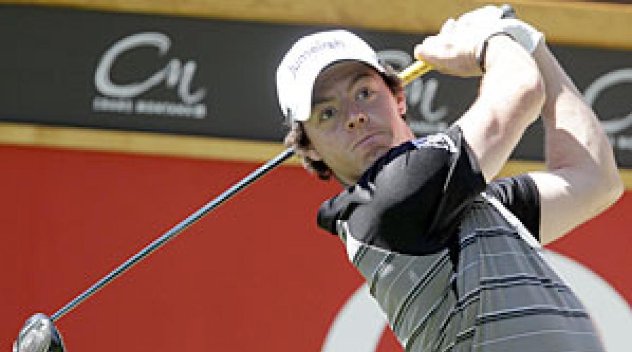 Rory McIlroy is playing his first event since the PGA.