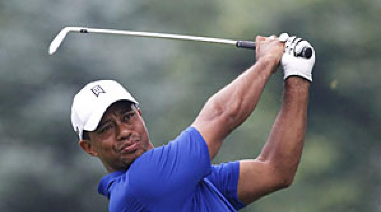 Tiger Woods made four bogeys and two birdies.