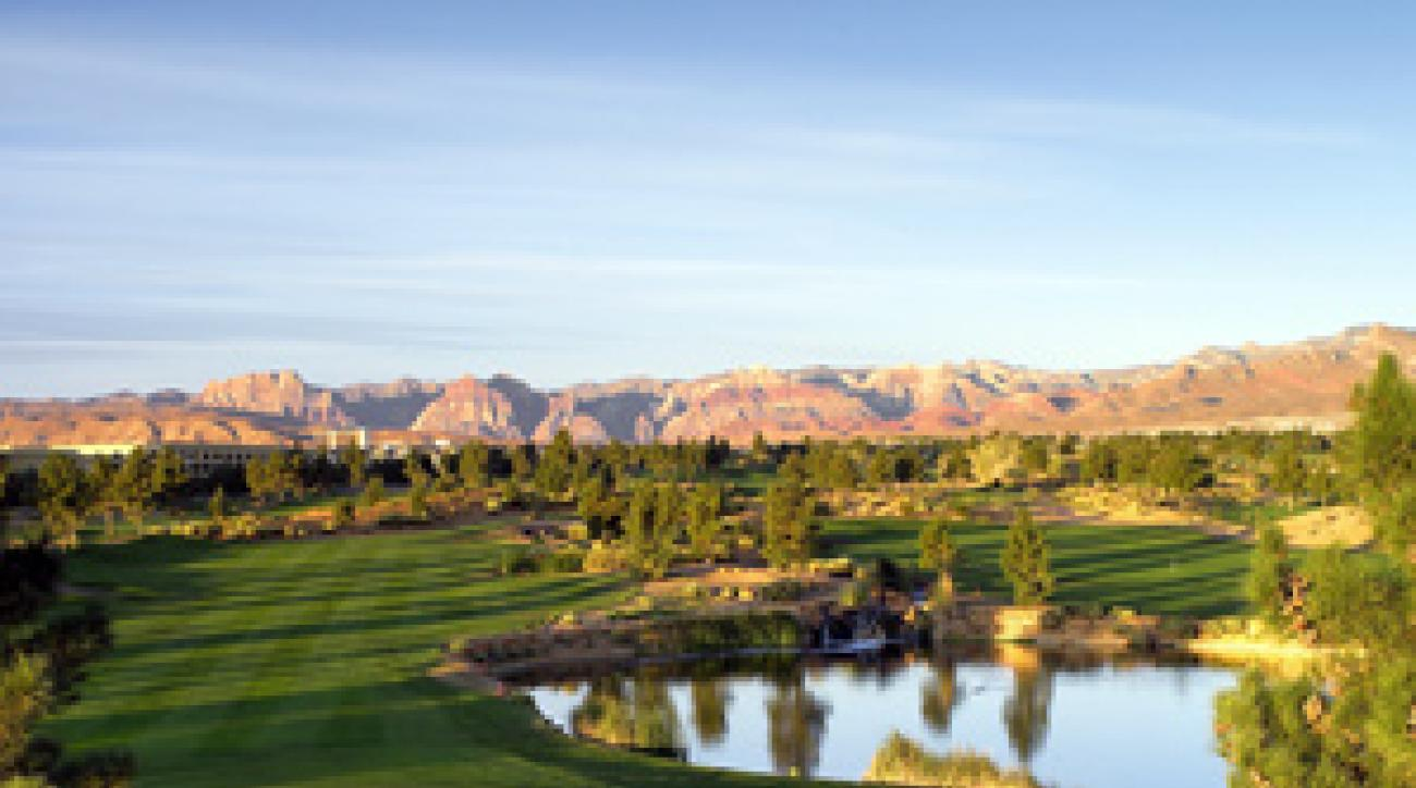 Just 15 minutes from the Strip, Angel Park is a safe bet for Vegas golfers.