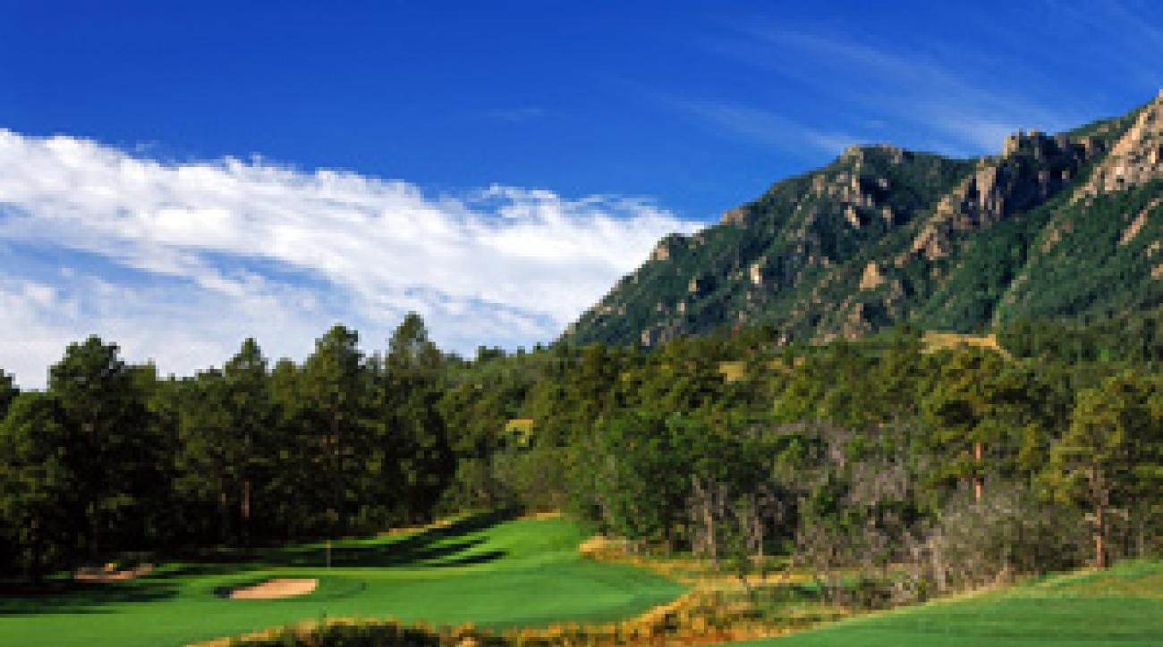 For fans of mountain golf, the Broadmoor is a real high.