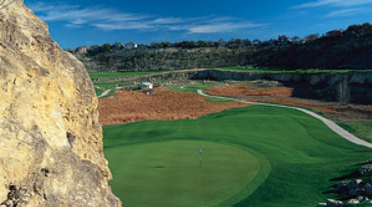 The Quarry Golf Club in San Antonio adds a desert target-golf feel to your Texas experience.