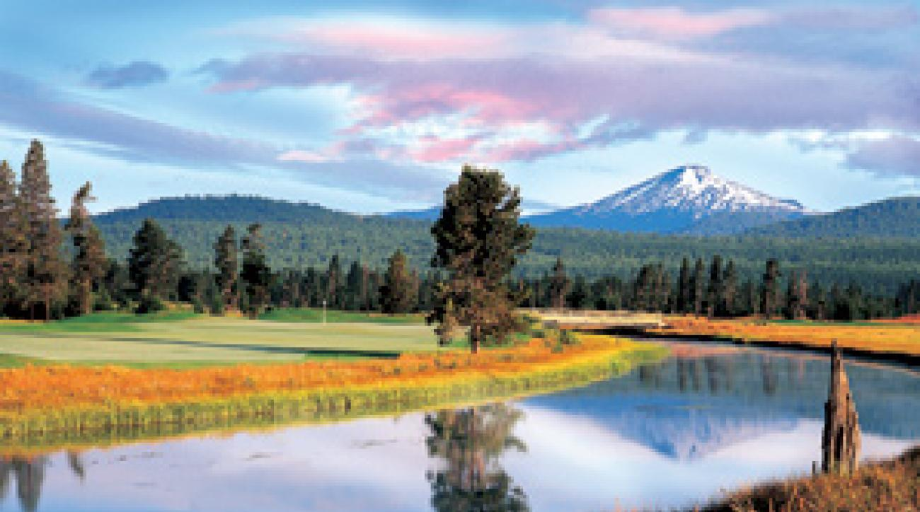 The Sunriver Resort includes buffer zones to keep treatments away from the rivers and wetlands.