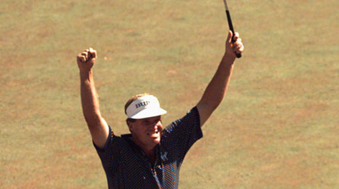 <strong>Name That PGA Championship Winner</strong><br /><br />                 Steve Elkington.