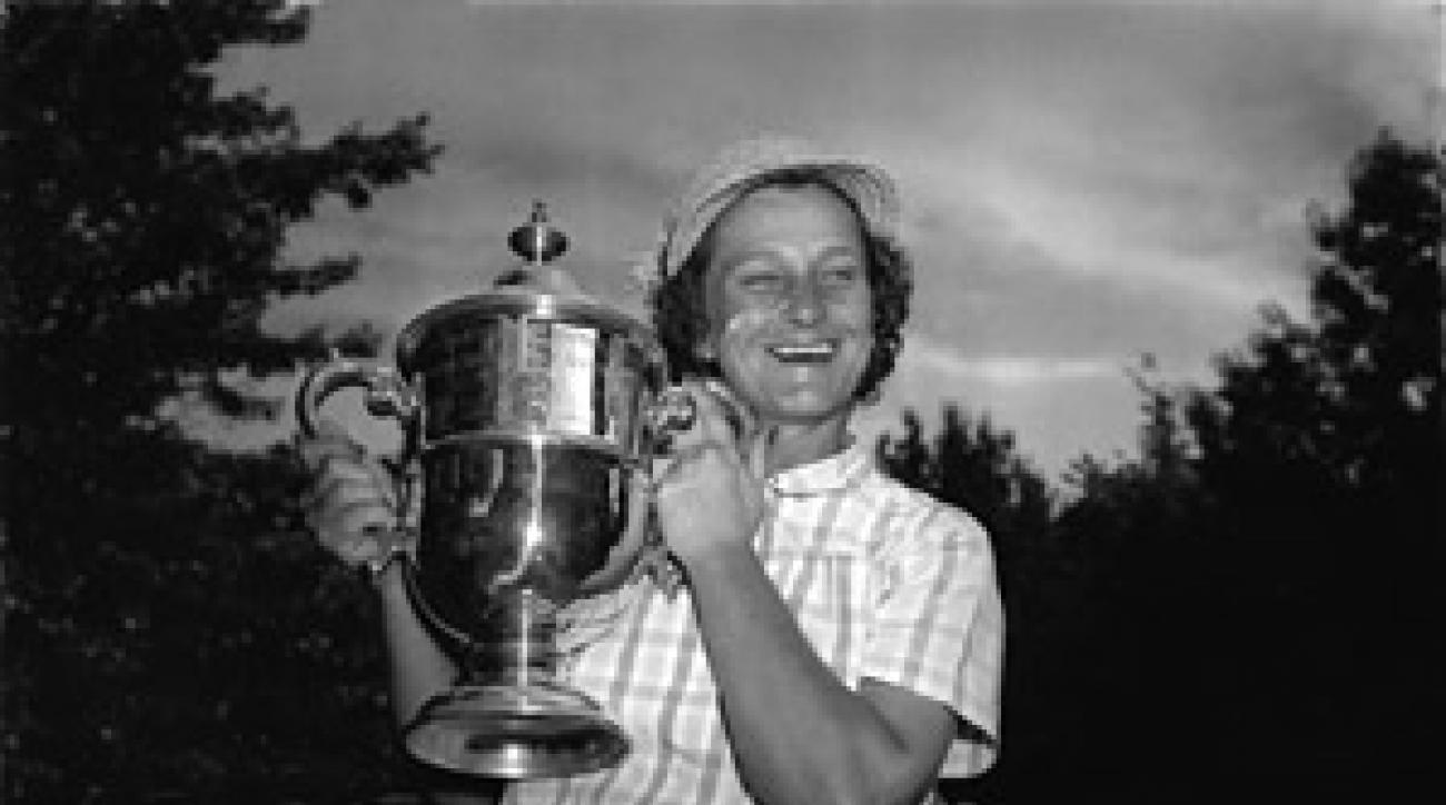 Babe Zaharias, 1954 U.S. Women's Open Champion