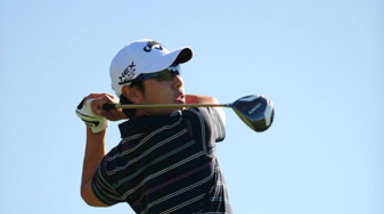 Sang-Moon Bae won the Japanese Tour money list last year.