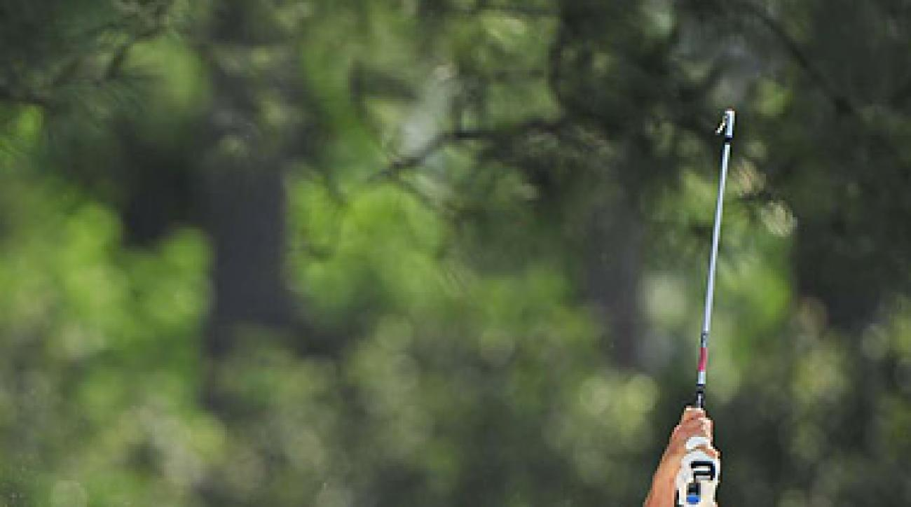 FULL SWING: Kraft, who made the cut on the number at the Masters, got a sponsor's exemption into this week's Texas Open.
