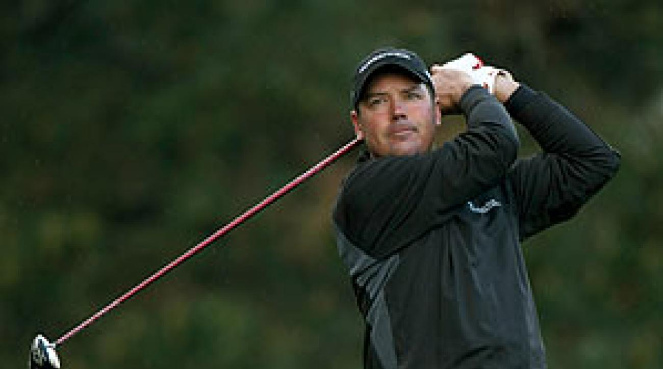 Rich Beem is one stroke off the lead.