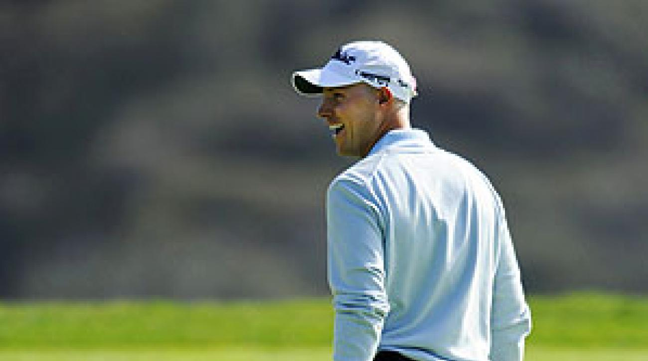 Crane holed 157 feet of putts during his Sunday comeback.