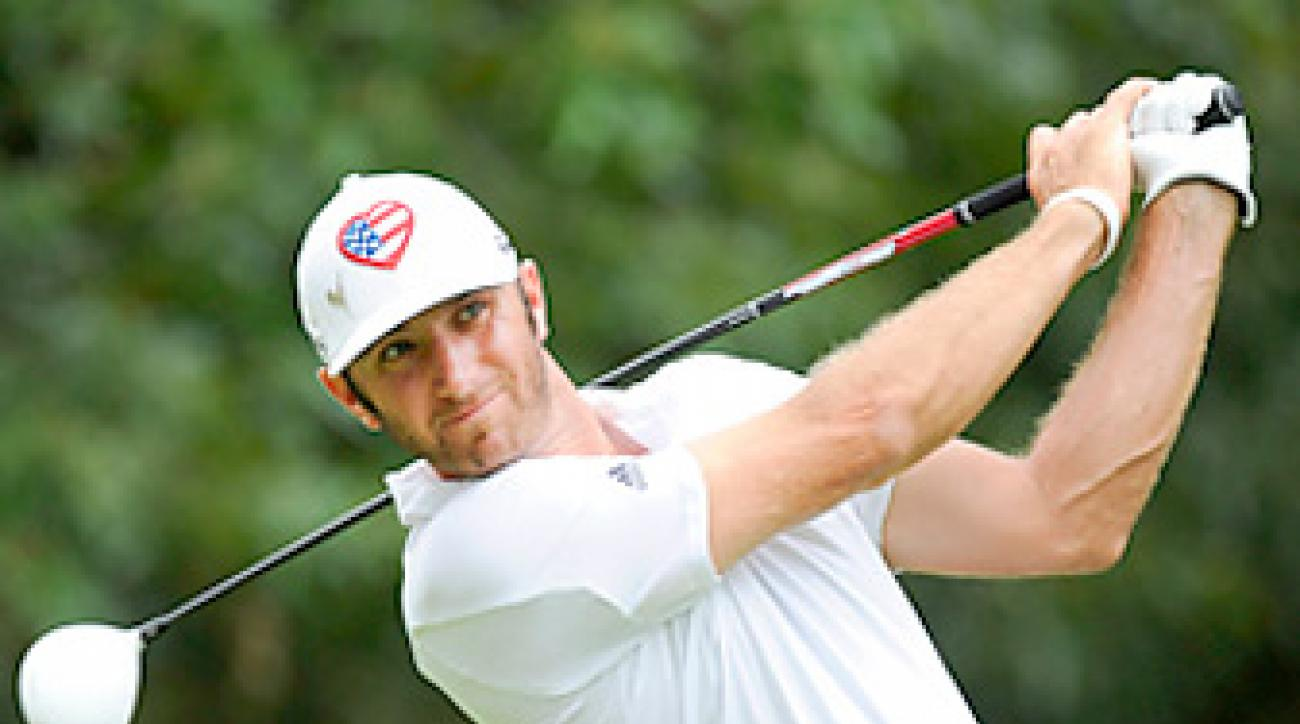 Dustin Johnson's power was the key to his one-shot win at the St. Jude Classic.