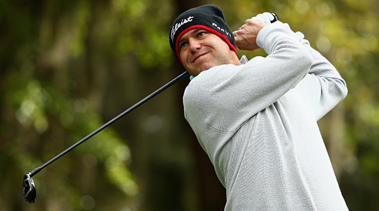 Bill Haas shot a 72 in the first round at Harbour Town.