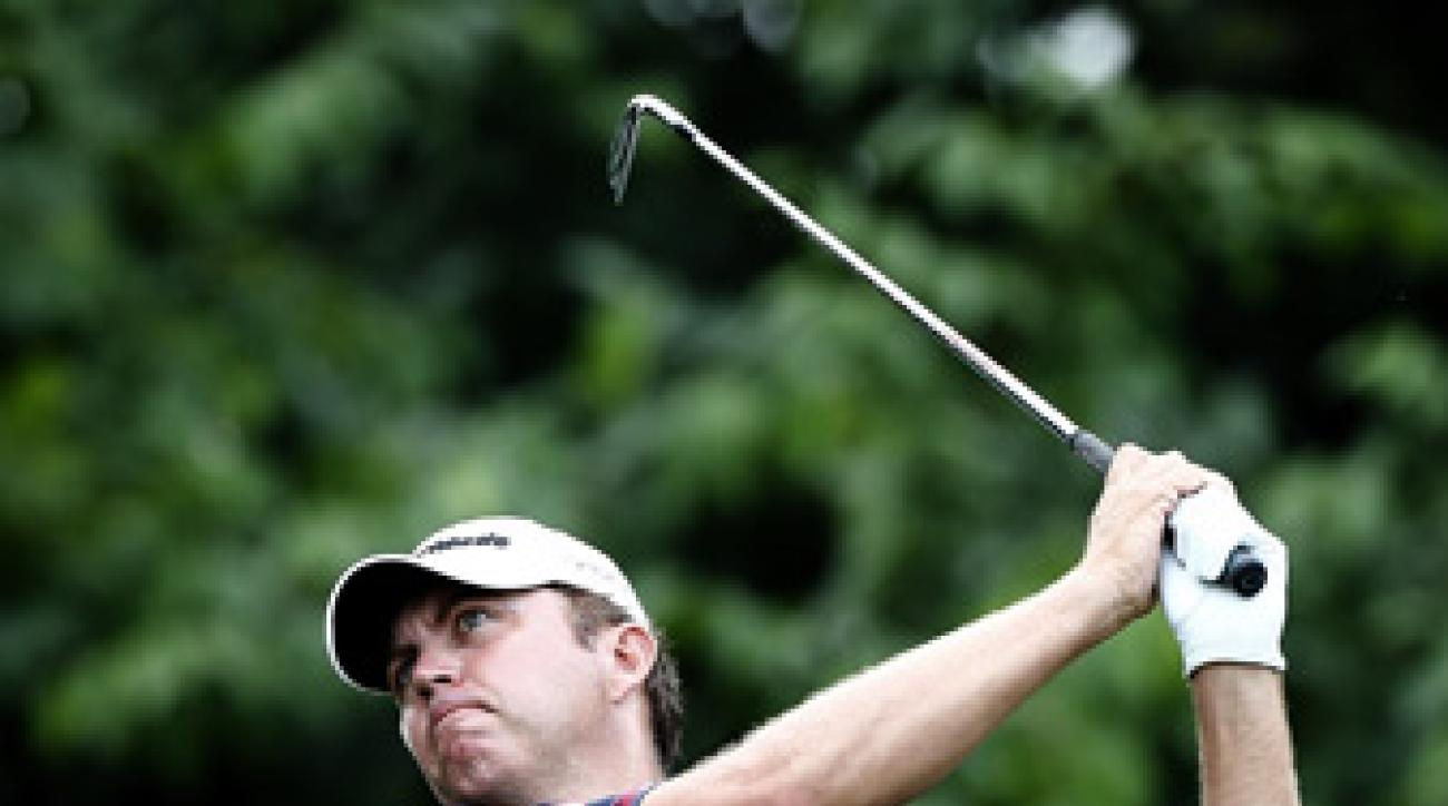 Bo Van Pelt missed a chance at a 59 after he double bogeyed 18.