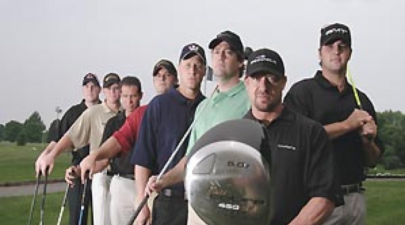 "Meet golf's swat team. <span class=""picturesource"">Mark Kegans</span>"