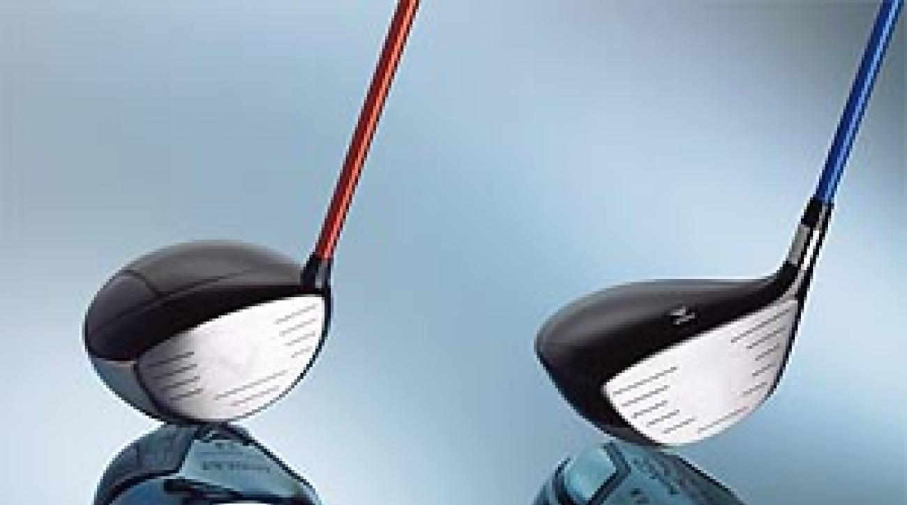 The newest drivers by Callaway and Titleist